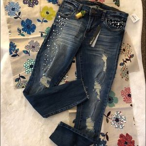 STS Blue Piper Ankle Skinny Jean Sz 28 NWT